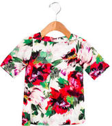 Milly Minis Girls' Rose Print Shift Dress