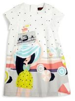 Catimini Toddler's & Little Girl's On The Beach Percale Dress