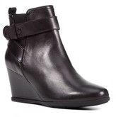 Geox Women's Inspiration Buckle Wedge Bootie