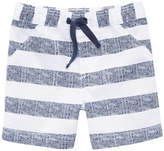 First Impressions Striped Woven Cotton Shorts, Baby Boys, Created for Macy's