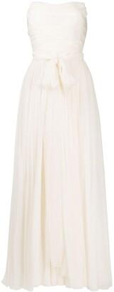 Dolce & Gabbana Gathered Strapless Dress