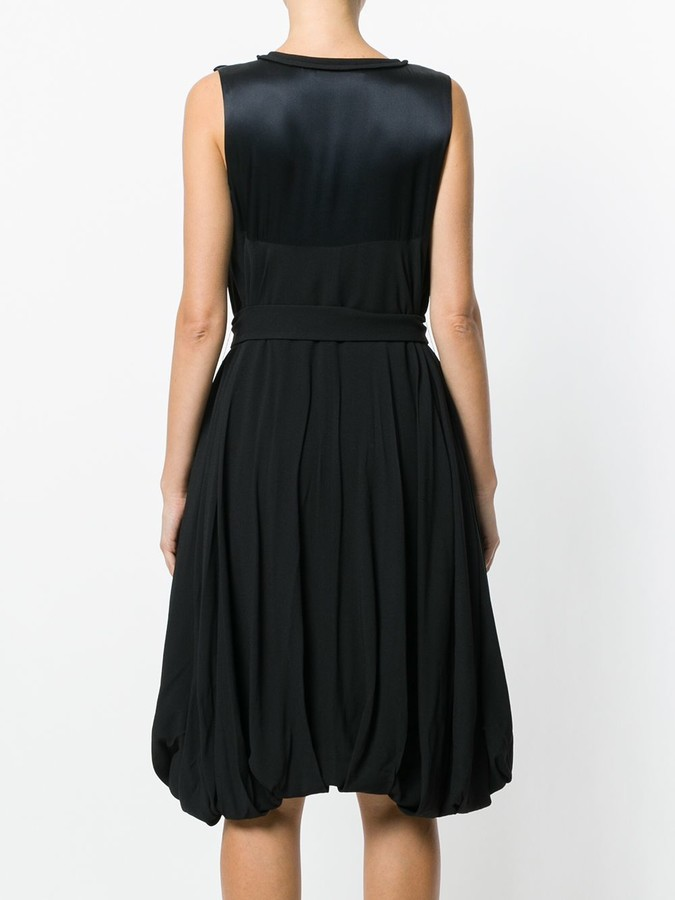 Thumbnail for your product : Christian Dior Pre-Owned Belted Balloon Dress