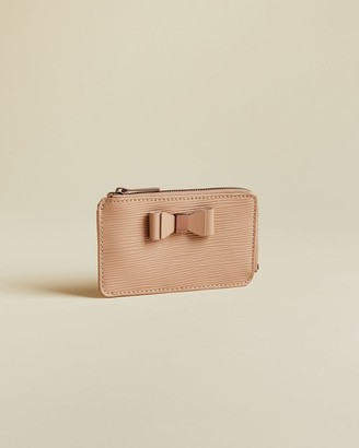 Ted Baker Bow Detail Leather Card Holder