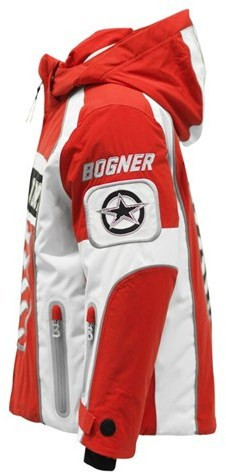 Bogner Red Amero Sporty Technical Ski Jacket