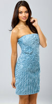 Mignon Strapless Layered Cocktail Dresses