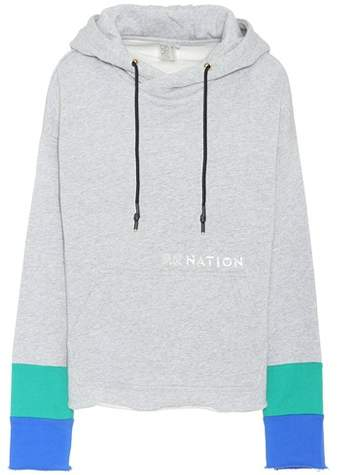 P.E Nation The Distance cotton hoodie