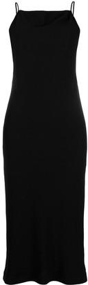 IRO Cut-Out Sleeveless Midi Dress