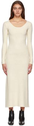 Totême Off-White Silk Molveno Dress