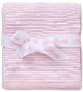 Little Me Infant Girls' Textured Striped Blanket