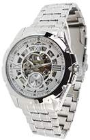 Lindberg & Sons SK14H027 - wrist watch for men - skeleton - automatic movement - analog display - stainless steel bracelet