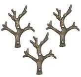 Threshold Metal Branch Hooks - Set of 3