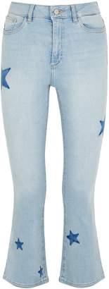 DL1961 Dl Bridget Star Cropped Jeans