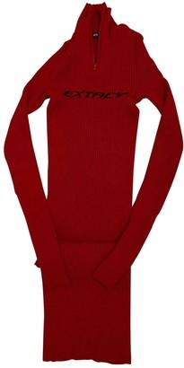 Misbhv Red Cotton - elasthane Dresses