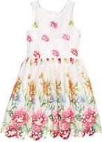 Nanette Lepore Painted Lace Dress, Big Girls (7-16)
