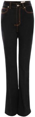 Alexander McQueen Contrast-Stitch Jeans
