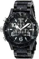 Nixon Men's A0372185 42-20 Chrono Analog Display Japanese Quartz Multi-Color Watch
