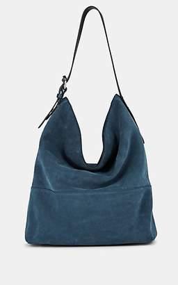 Barneys New York Women's Suede Hobo Bag - Oceania Blue