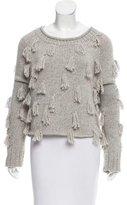 Apiece Apart Textured Alpaca-Blend Sweater