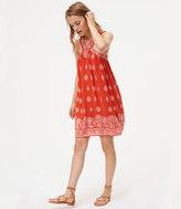 LOFT Petite Olé Swing Dress