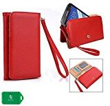 BLU Neo 5.5, BLU Neo X Plus Phone wristlet case with I.D and Card Holder