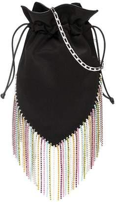 Les Petits Joueurs embellished bucket bag