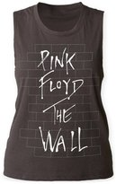 Pink Floyd English Rock Band Music Group The Wall Juniors Muscle Tank Top