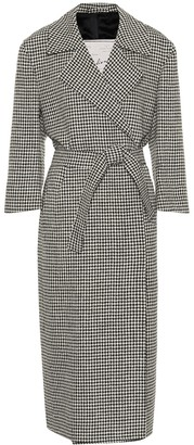 Giuliva Heritage Collection The Linda houndstooth wool coat