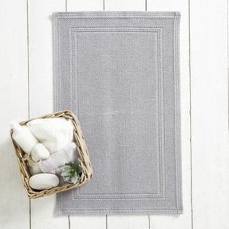 The White Company Antibes Bath Mat, Storm Grey, Medium