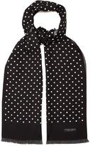 Bottega Veneta Polka-dot silk scarf