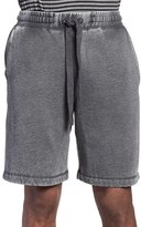 Daniel Buchler Men's Washed Cotton Blend Lounge Shorts