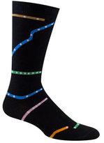 Ozone Men's Chicago Subway Map Socks (2 Pairs)