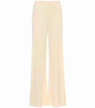 The Row Gala crApe wide-leg pants