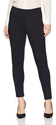 Ellen Tracy Women's Petite Size Legging with Zip Pocket Detail