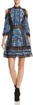 Alice + Olivia Gatz Cold-Shoulder Dress