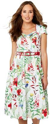 Joe Browns Garden Party Dress - Cream