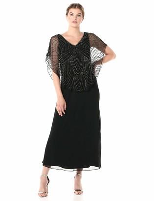 J Kara Women's Capelet Dress
