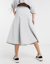Damson Madder organic cotton extreme a line skirt two-piece
