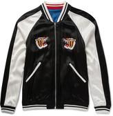 Sandro - Reversible Embroidered Satin Souvenir Bomber Jacket