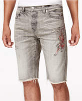 "True Religion Men's Tiger Denim 11 3/4"" Shorts"