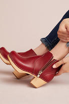 Swedish Hasbeens Zip It Emy Clog Boots