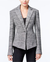 Rachel Roy Pleated One-Button Blazer, Only at Macy's