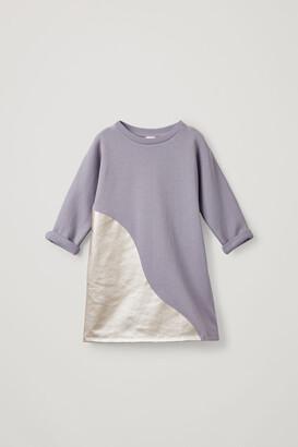 Cos Printed Organic Cotton Dress