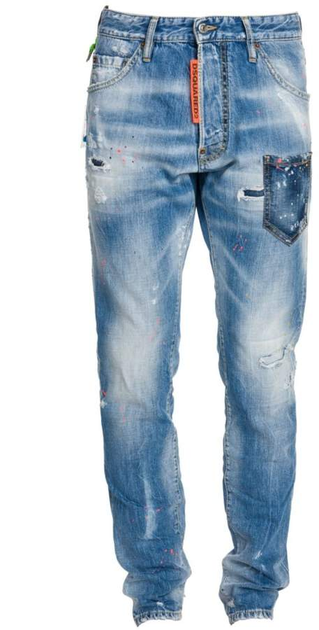 DSQUARED2 Cool Guy Rave On Skinny Jeans