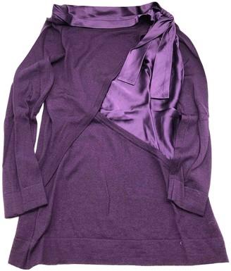 Alberta Ferretti Purple Wool Knitwear for Women