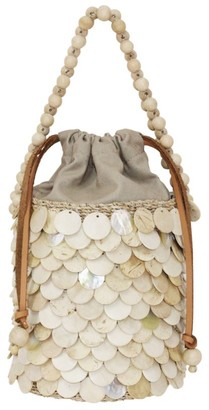 Aranaz Mini Fish Scale Bucket Bag