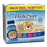 PediaSure Balanced Nutrition Beverage, 8 fl oz Bottles, Vanilla, 16 ea