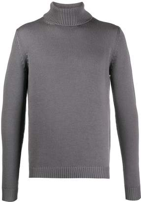 Roberto Collina turtle-neck fitted jumper