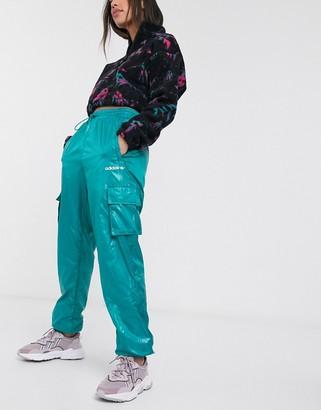 adidas tech utility pants in green