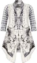 Izabel London Printed Waterfall Cardigan