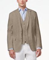 INC International Concepts Men's Slim-Fit Stretch Linen Blazer, Created for Macy's